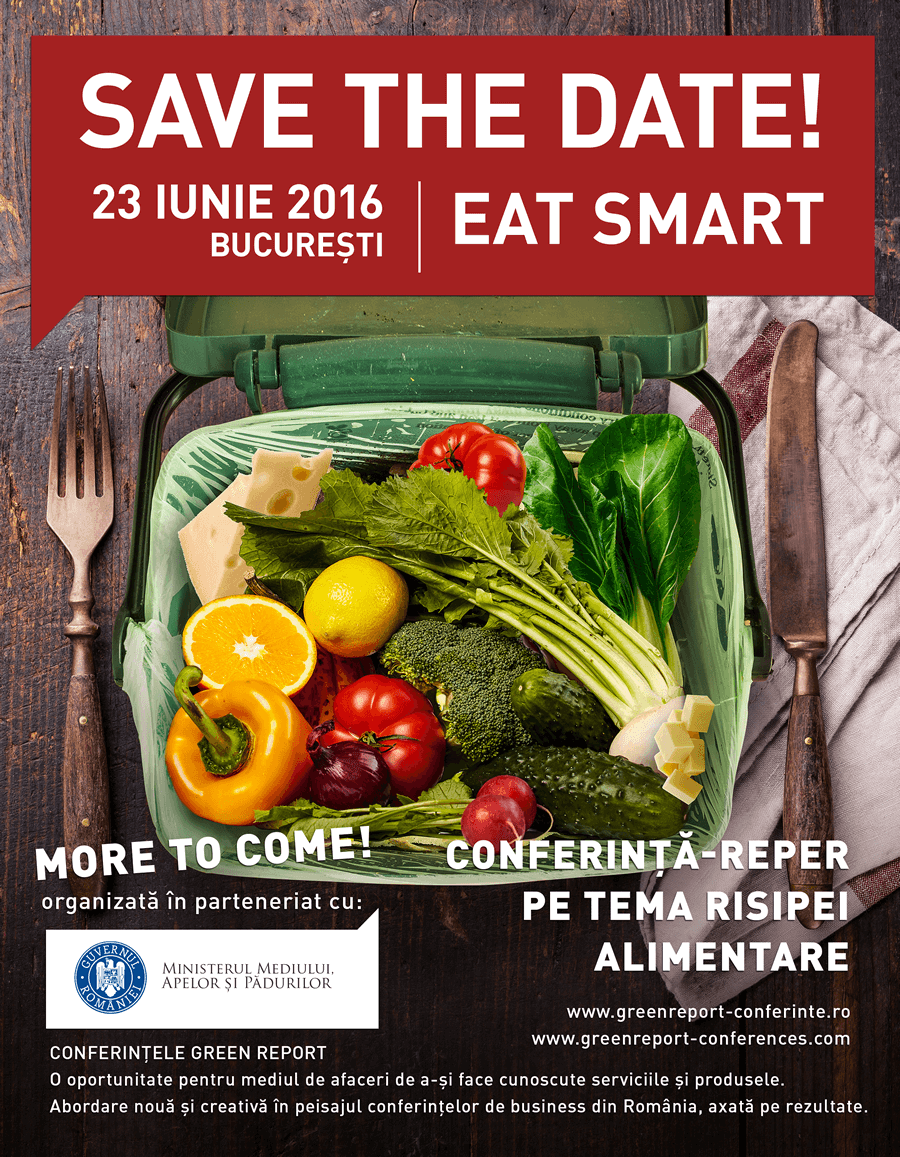 Conferinta EAT SMART » Save the Date